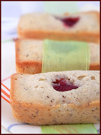 financier cake sweet