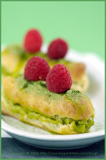 éclair choux pastry