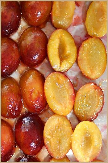 clafoutis plum quetsches