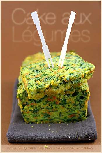 Versatility in a Spinach and Sweet Potato Cake — Un cake aux épinards et patate douce versatile | La Tartine Gourmande