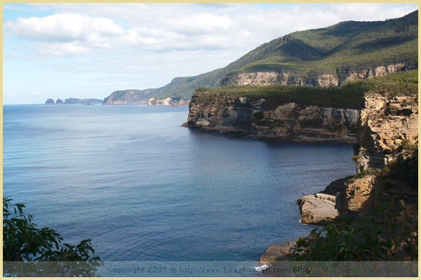 Tasman Peninsula Cliffs Australia