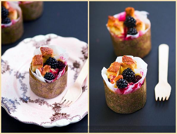brioche pudding berry