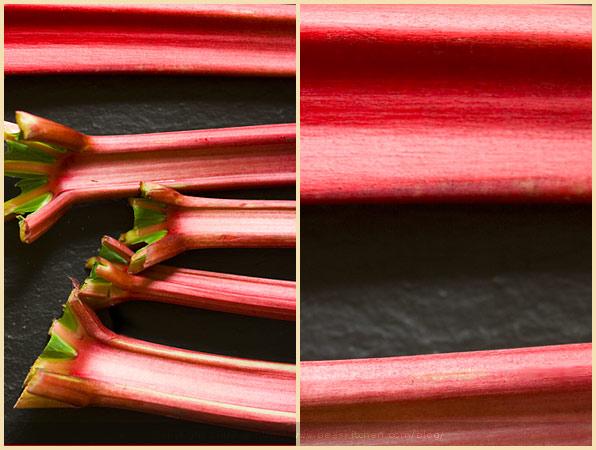 rhubarb fruit pink