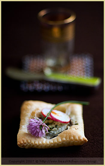 food styling photography sainte maure eggplant tartlet honey thyme tartine gourm