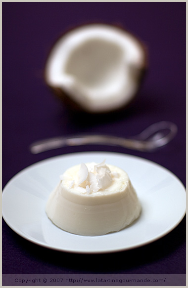 buttermilk coconut panna cotta food styling photography tartine gourmande sweet dessert