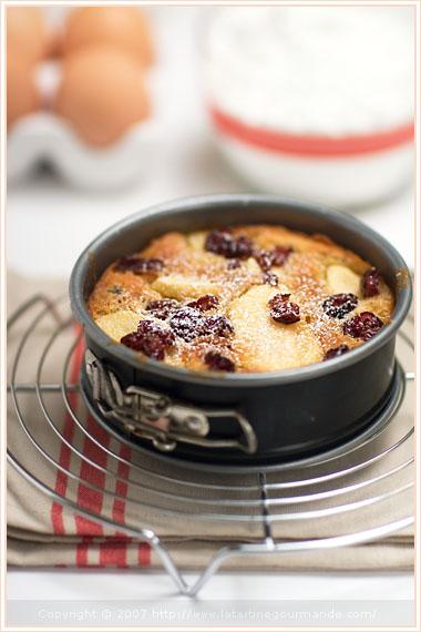 reine reinette apple cake