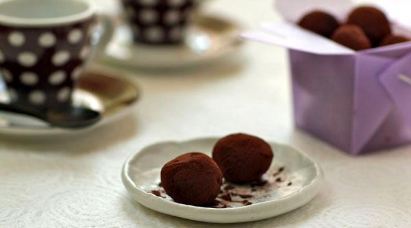 chocolate truffle boston globe
