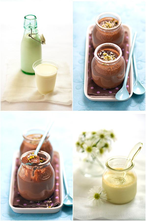 dairy products pots crème