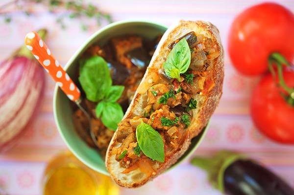 bohemienne eggplant dish France