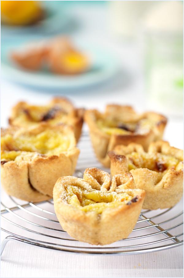 pastéis de nata portuguese pastry