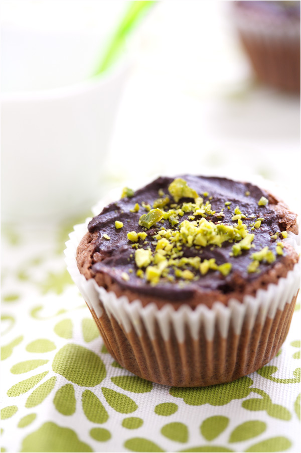 chocolate muffin buckwheat hazelnut gluten free