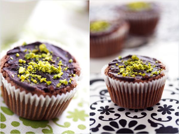 chocolate muffin buckwheat hazelnut gluten free