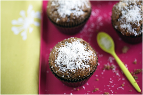 banana coconut muffin gluten free baking