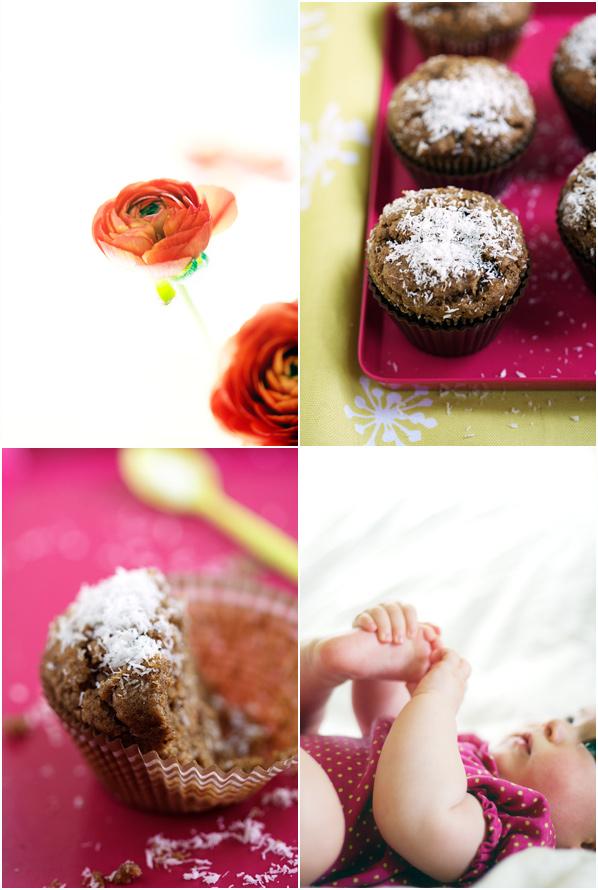 lulu coconut banana muffin gluten free baking