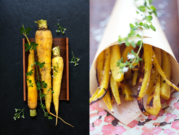our favorite are parsnips and carrots these are yellow carrots
