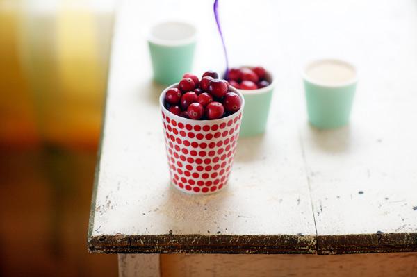 Lulu gluten free cranberry upside down cake