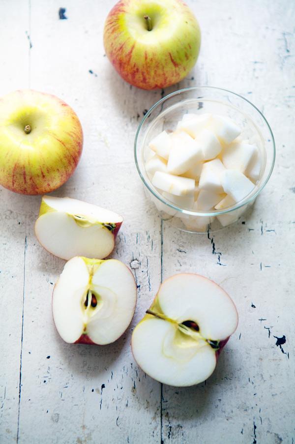 vanilla cortland apple sauce baby
