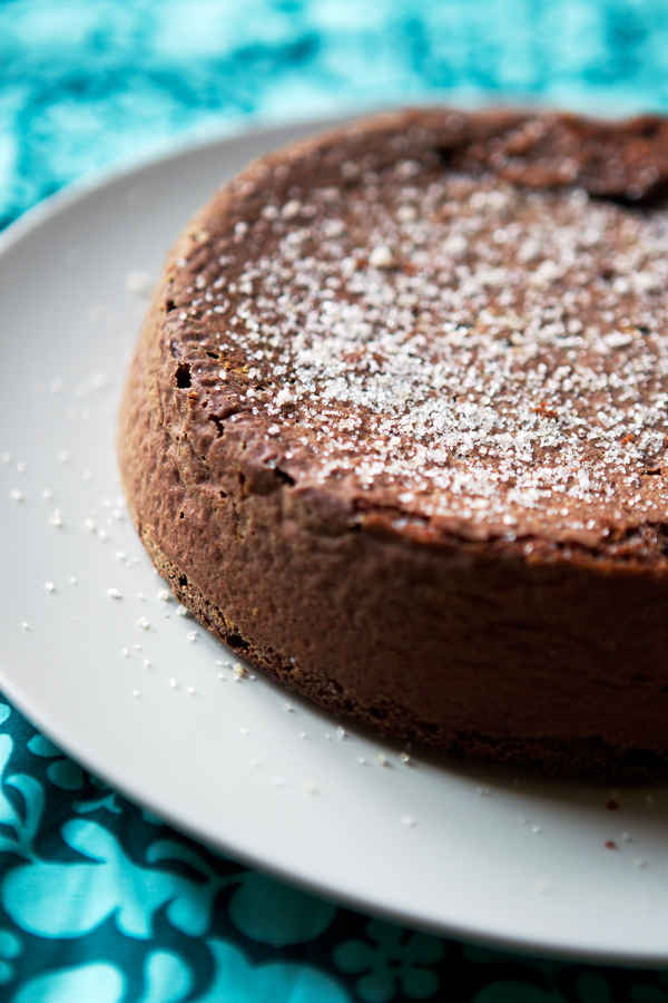 chocolate almond gluten free cake