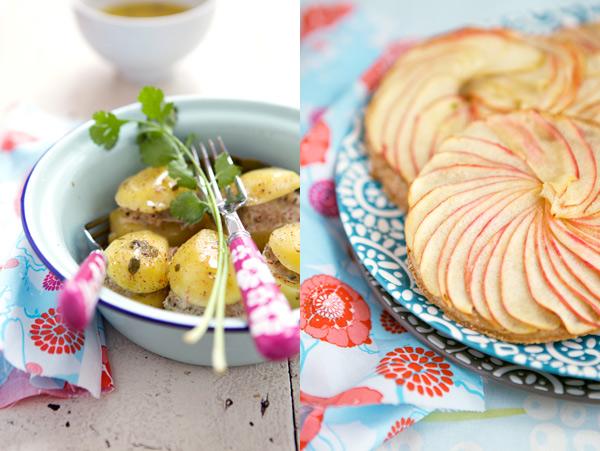 tarte aux pommes fines