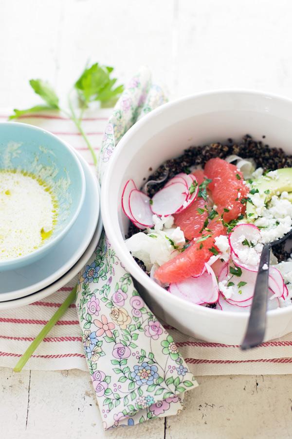gluten free black quinoa