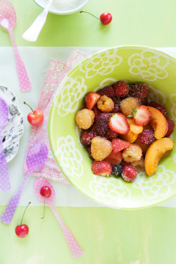 fruit papillote gluten free recipe