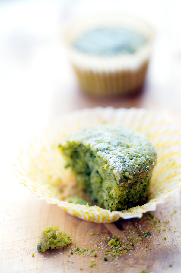 gluten free pistachio financier recipe