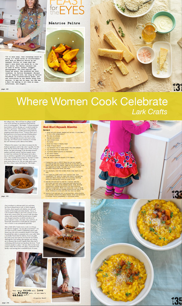 where women cook celebrate lark crafts jo Packham