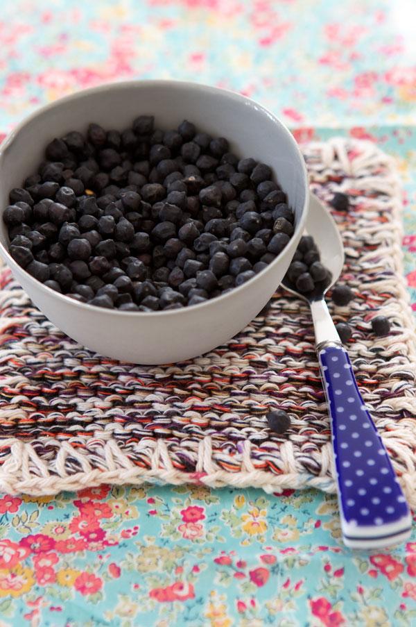 gluten free black chickpeas