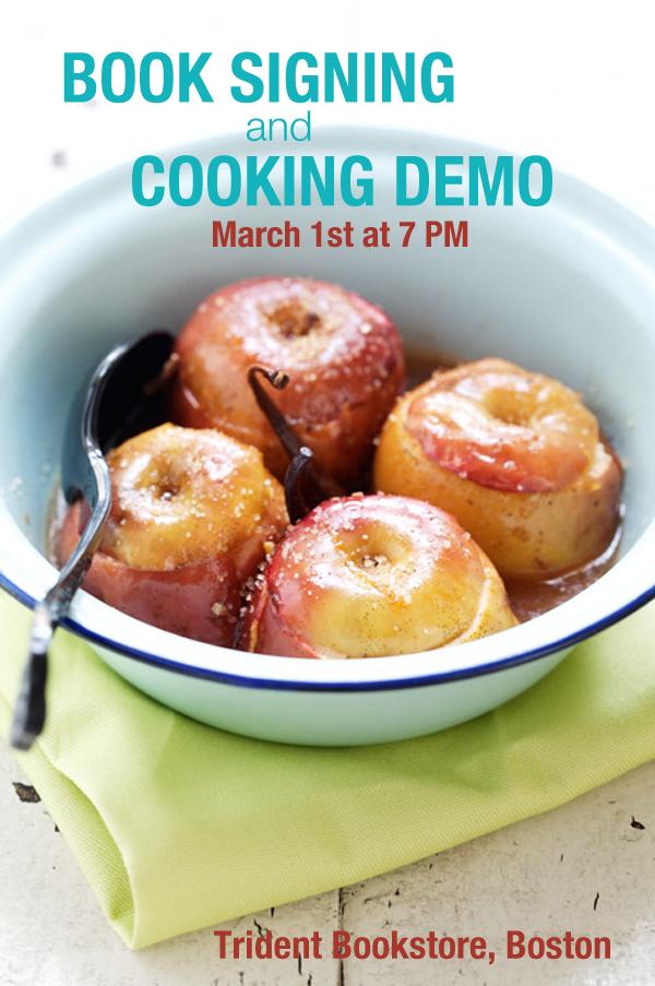 trident bookstore boston cooking demo tartine gourmande