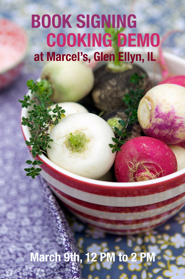 ... and Cooking Demo, Marcel's in Glen Ellyn IL | La Tartine Gourmande