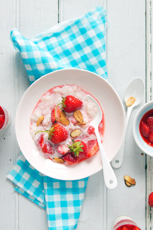 gluten free rice pudding recipe strawberries